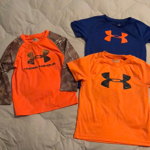 46ad8ff7ce Toddler Boys 3T-4T lot of Under Armour shirts